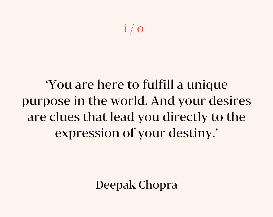 Quote Deepak Chopra